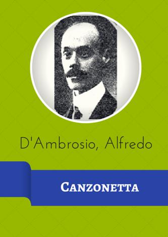 D'Ambrosio, Alfredo - Canzonetta Op. 6