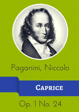 Paganini, Niccolò - Caprice op. 1 Nr. 24