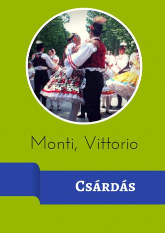 Monti, Vittorio - Czárdás